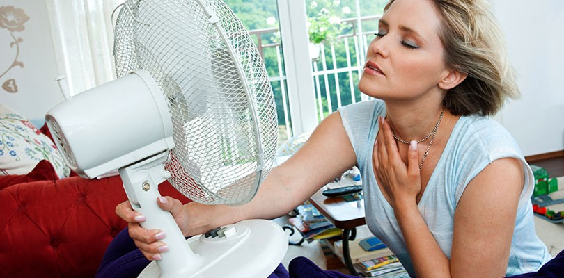 Hot Flashes Can Be All Consuming