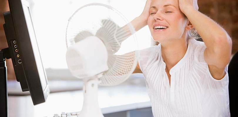 Hot Flashes Are the First Sign That Menopause Is Approaching
