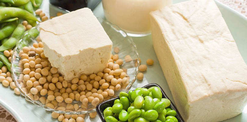 Soybeans, tofu and other soy products
