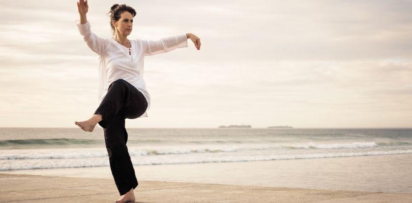 Tai chi helps with symptoms of arthritis.
